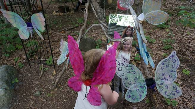 fairy in the mirror