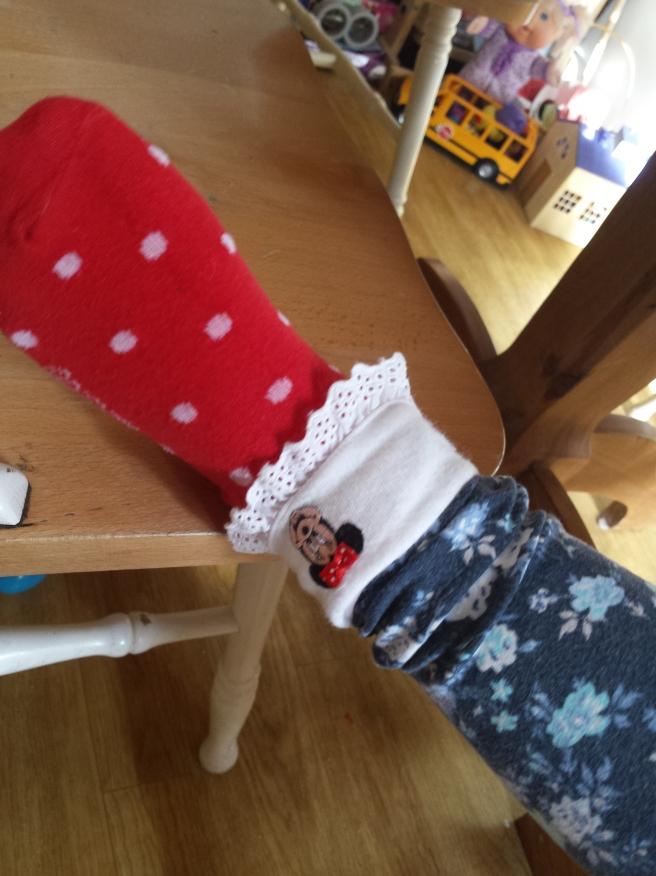 disney sock
